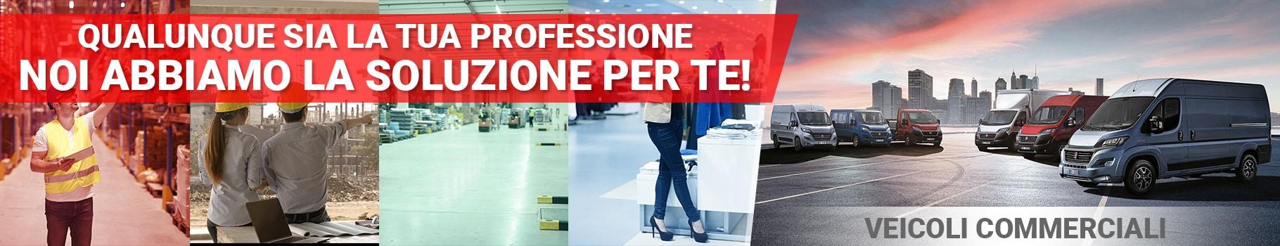 Qualunque sia la tua professione, noi abbiamo la soluzione per te!