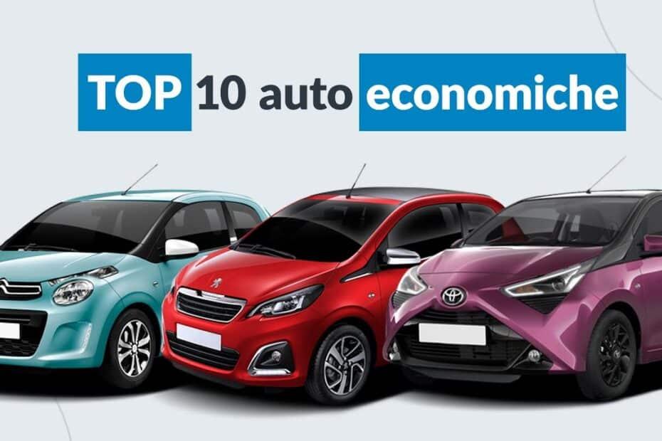 top 10 auto economiche